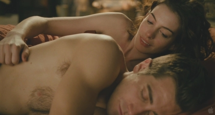 "Anne Hathaway and Jake Gyllenhaal en ""Love and Other Drugs"""