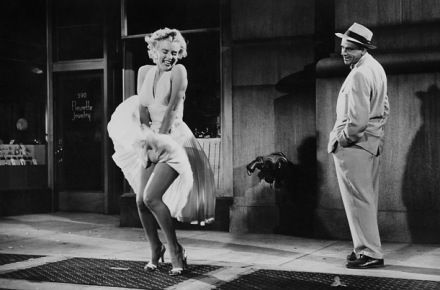 "Marilyn Monroe in ""The Seven Year Itch"" 1955."