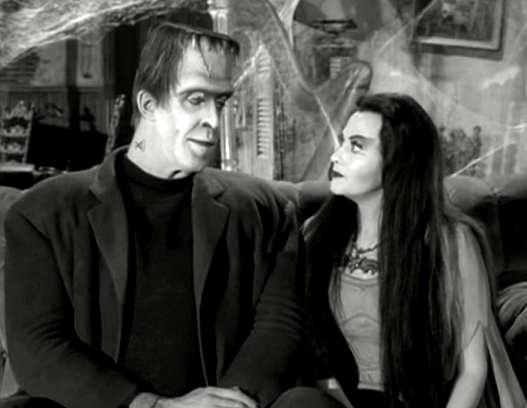 Herman and Lily Munster.