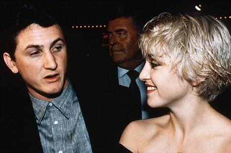 Madonna y Sean Penn.
